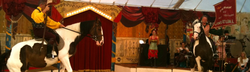 we arrived in the town of Minchinhampton yesterday to find there was a regional circus in the 'commons.' Very family oriented, small, and quite entertaining! Walking distance from the house.