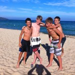 New friends at Pampelonne beach St. Tropez