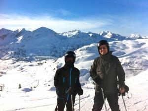 skiing austria